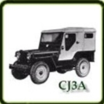 Bumpers category  G503 Army Jeep Parts for  CJ3A Military Jeeps