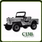 Bumpers category  G503 Army Jeep Parts for  CJ3B Military Jeeps