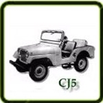 Engine category  G503 Army Jeep Parts for  CJ5 Military Jeeps