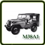 M38A1 Exhaust