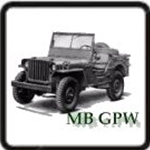 Engine G503 Army Jeep Parts for Willys MB or Ford