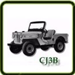 Exhaust category  G503 Army Jeep Parts for  CJ3B Military Jeeps