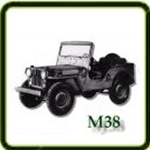 Exhaust category  G503 Army Jeep Parts for  M38 Military Jeeps