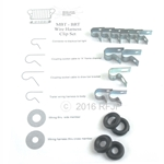 Wiring clip set MBT with grommets -0606 MBT
